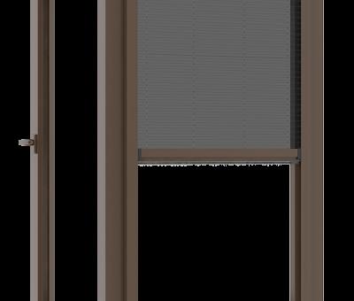 Verticaal open model